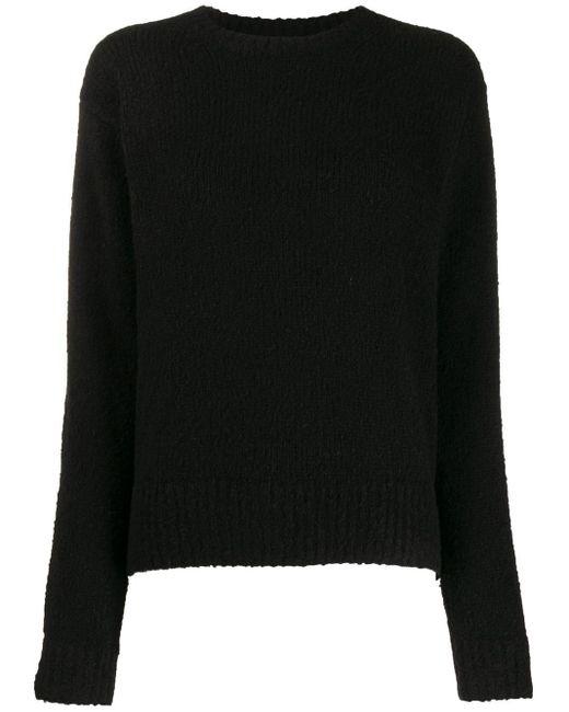 Acne リラックスフィット セーター Black