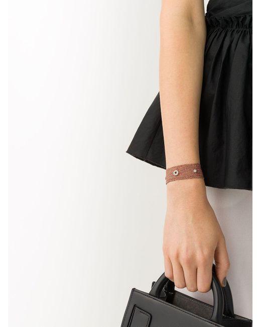 Браслет Viii Из Розового Золота С Бриллиантами Carolina Bucci, цвет: Metallic