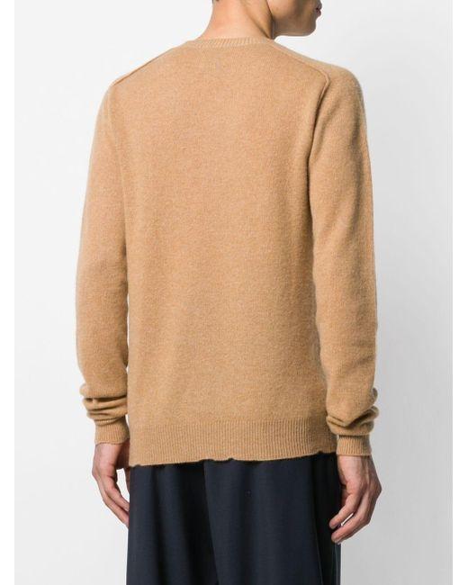 Джемпер С Круглым Вырезом Bottega Veneta для него, цвет: Brown