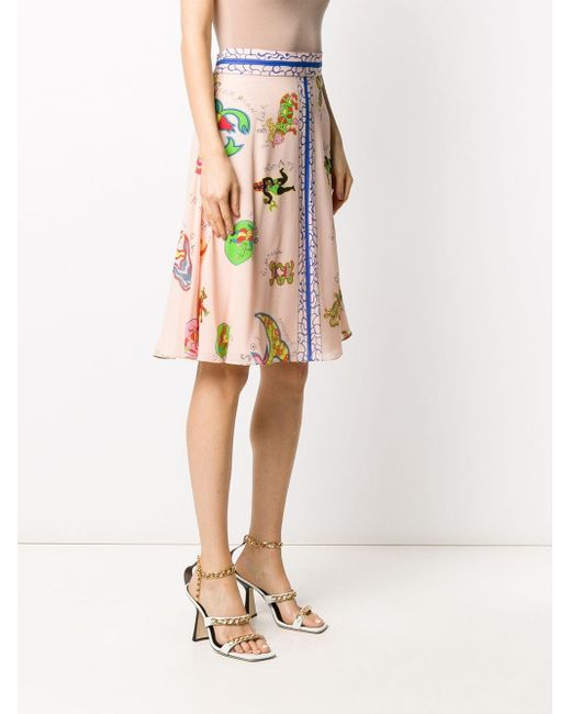 Dior プレオウンド Aラインスカート Pink