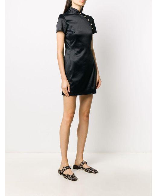 AlexaChung Mandarin ミニドレス Black