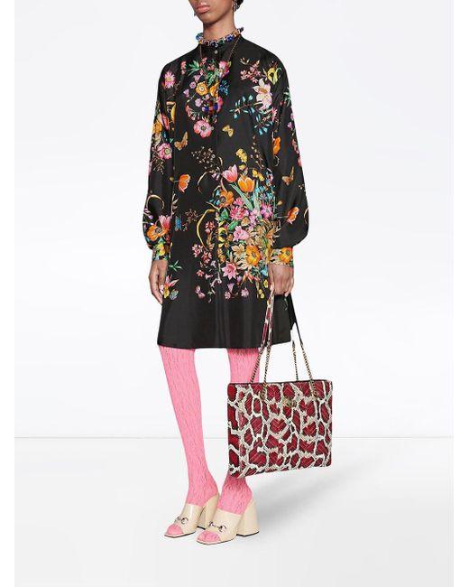 Gucci フローラル ドレス Multicolor