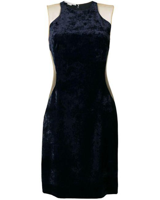 Stella McCartney Kate Winslet Velvet Dress Blue