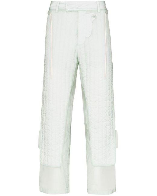 メンズ Craig Green キルティング パンツ Multicolor