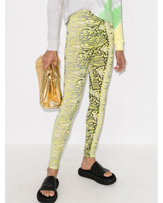 Maisie Wilen Body Shop レギンス Yellow