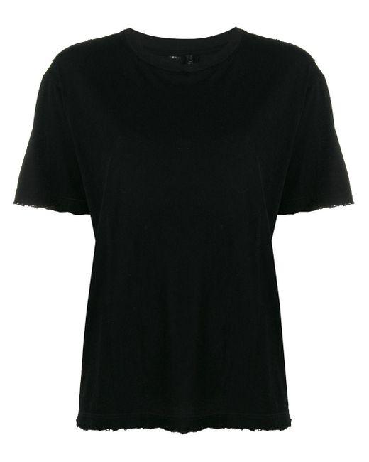 Unravel Project クルーネック Tシャツ Black