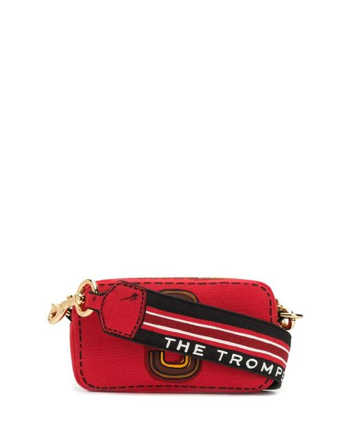 Marc Jacobs Snapshot ショルダーバッグ Red
