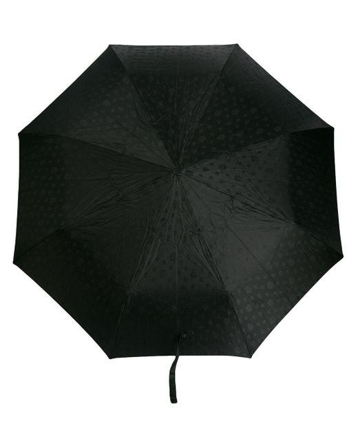 Складной Зонт С Декором Skull И Кристаллами Alexander McQueen, цвет: Black