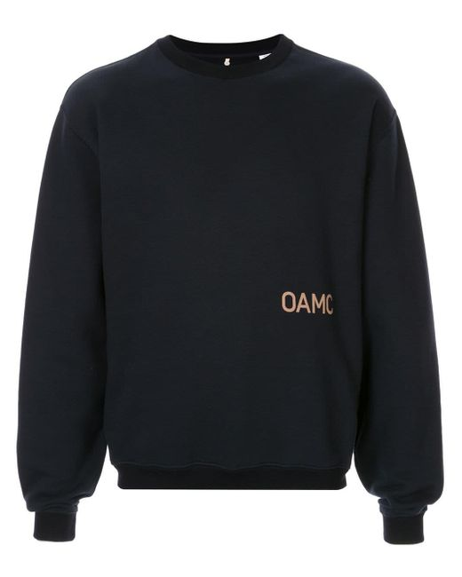 メンズ OAMC クルーネック スウェットシャツ Black