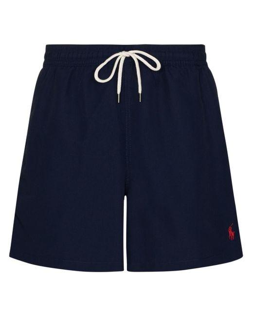 メンズ Polo Ralph Lauren トランクス水着 Blue