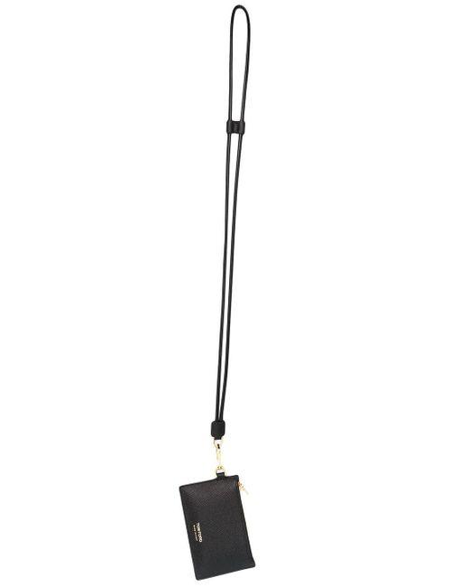 Portafoglio con cordoncino di Tom Ford in Black da Uomo