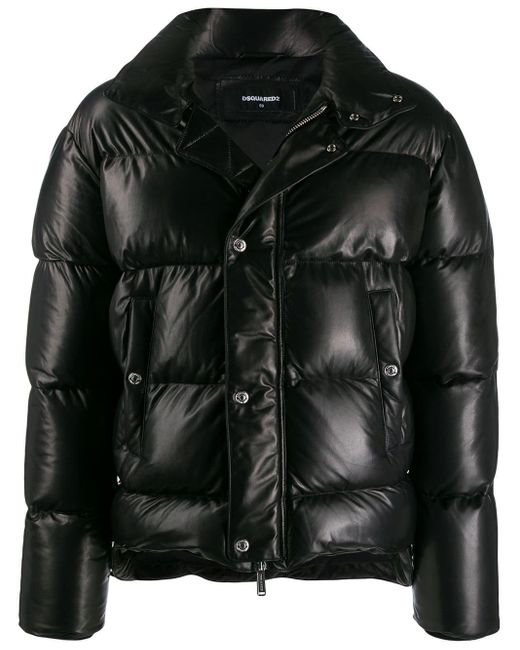 メンズ DSquared² パデッドジャケット Black