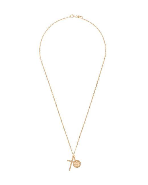 Emanuele Bicocchi Metallic Multi Pendant Necklace