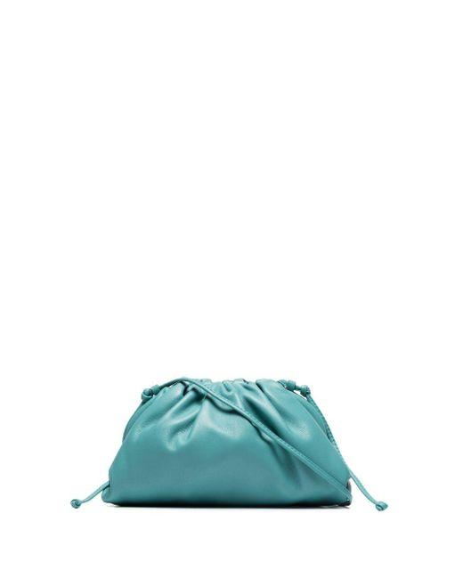 Mini sac porté épaule Baguette Bottega Veneta en coloris Green