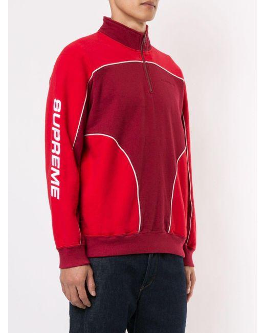 メンズ Supreme Speedway スウェットシャツ Red