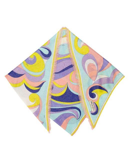 Emilio Pucci プリント スカーフ Multicolor
