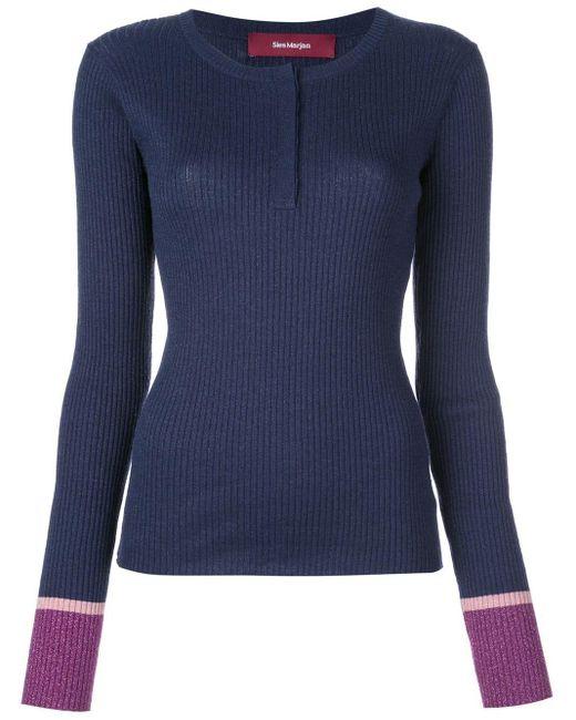 Sies Marjan Kate セーター Blue
