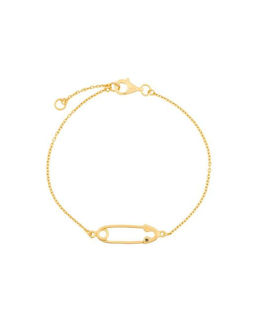 True Rocks - Metallic Safety Pin Bracelet - Lyst