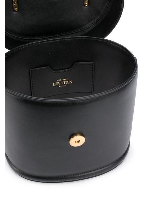 Borsa tote Devotion di Dolce & Gabbana in Black