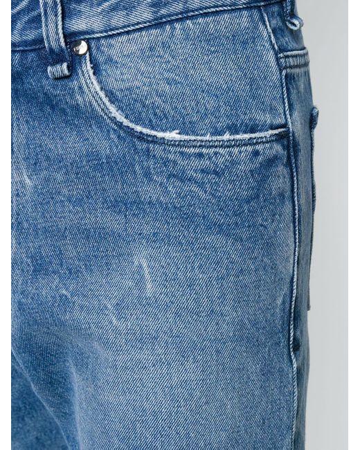メンズ Fendi ストレートジーンズ Blue