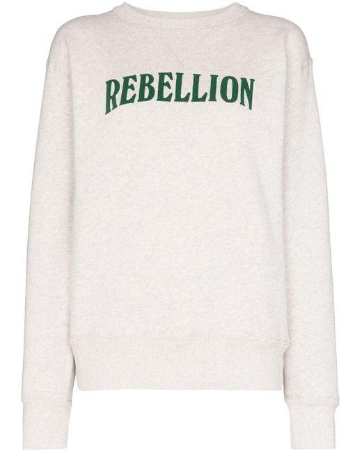 Étoile Isabel Marant Rebellion セーター Gray