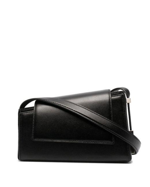 OSOI Black Mini Mag Leather Bag