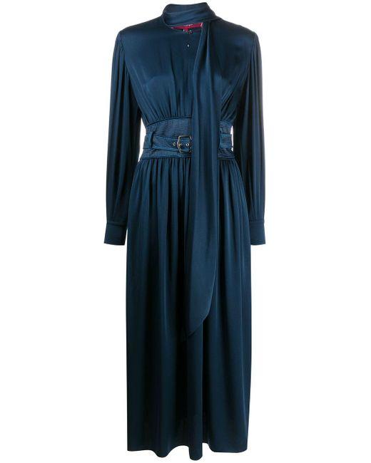 Sies Marjan ベルテッド ドレス Blue