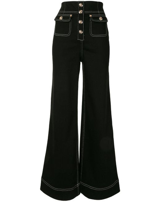 Alice McCALL Rock With You ワイドジーンズ Black