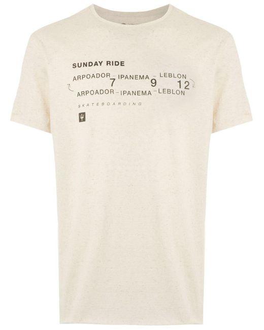 メンズ Osklen Sunday Tシャツ Multicolor
