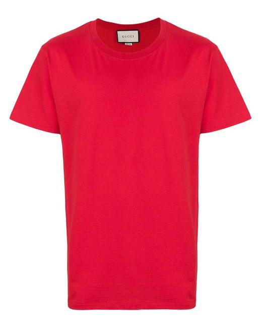 メンズ Gucci グッチ プリント Tシャツ Red