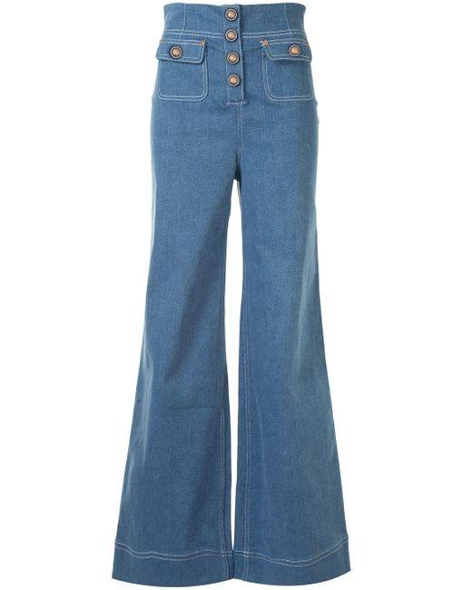 Alice McCALL Woodstock ワイドジーンズ Blue