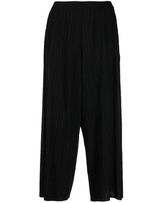 Укороченные Плиссированные Брюки Fabiana Filippi, цвет: Black