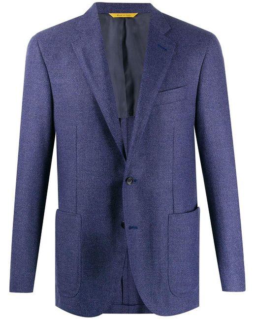 メンズ Canali フォーマル ジャケット Blue