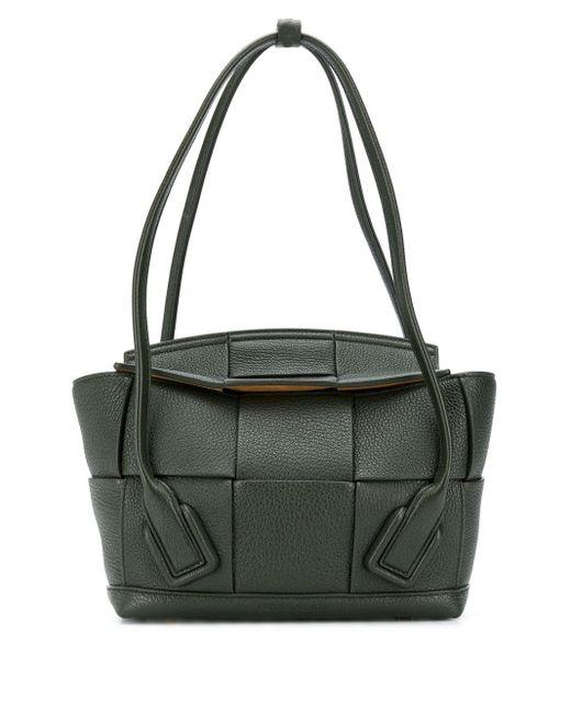Petit sac cabas Arco Bottega Veneta en coloris Green