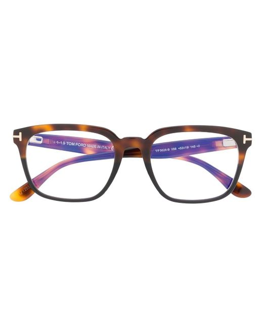 メンズ Tom Ford Ft5626b Square-frame Sunglasses Blue