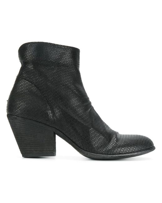 Officine Creative - Black Heeled Ankle Boots - Lyst