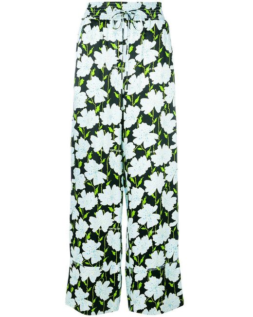 Off-White c/o Virgil Abloh | Green Fantasia Print Trousers | Lyst