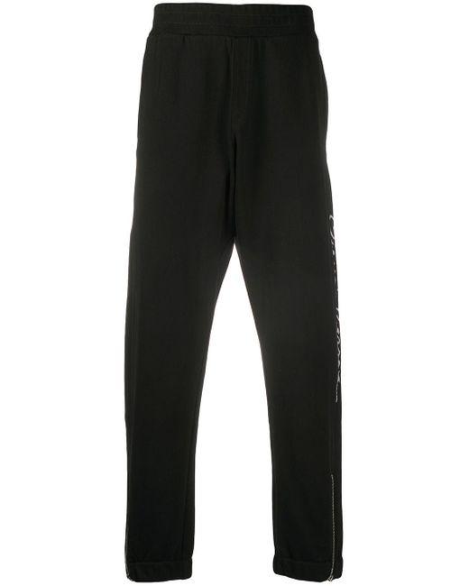 Спортивные Брюки С Надписью Gv Signature Versace для него, цвет: Black
