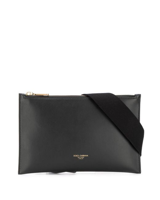 メンズ Dolce & Gabbana モンレアーレ ベルトバッグ Black
