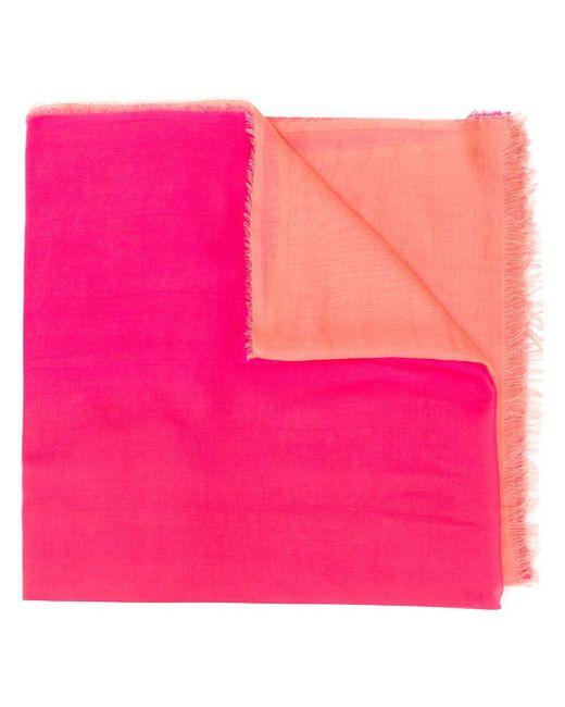 Faliero Sarti グラデーション スカーフ Pink