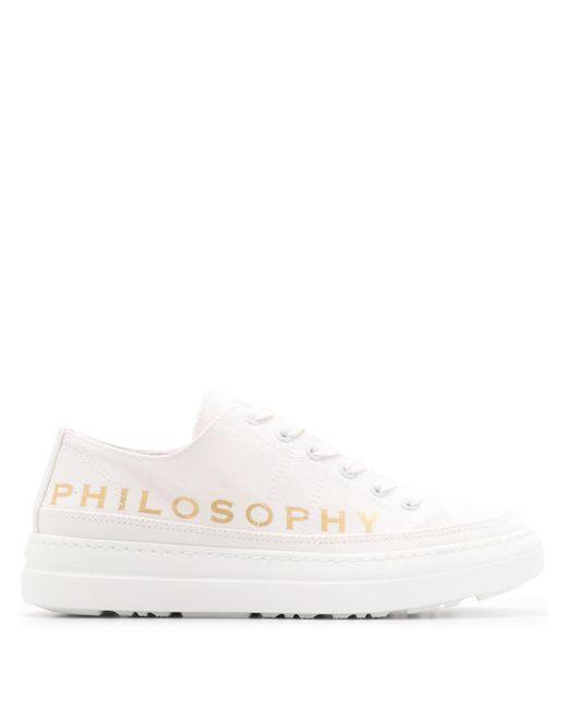 Кроссовки С Логотипом Philosophy Di Lorenzo Serafini, цвет: White