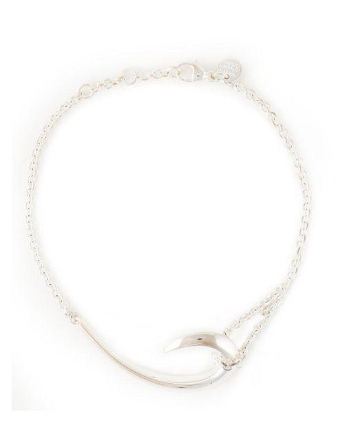 Shaun Leane   Metallic Sterling Silver Hook Bracelet   Lyst