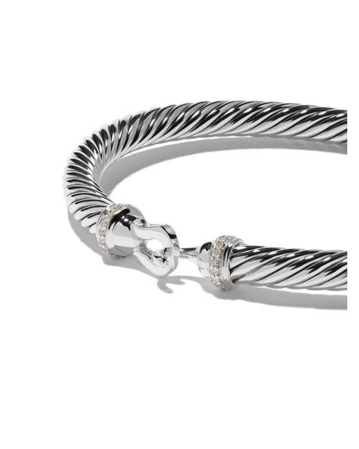 David Yurman Cable Collectibles ダイヤモンド バングル Multicolor