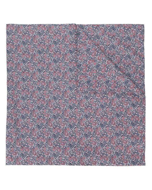 Платок С Принтом Пейсли Mackintosh, цвет: Blue