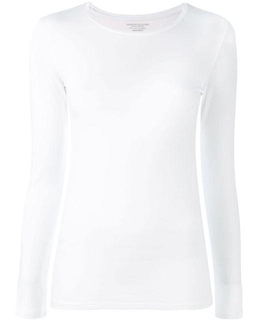 Majestic Filatures 長袖tシャツ White