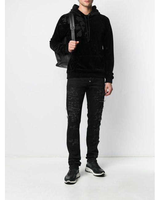 Philipp Plein Gerade 'Supreme' Jeans in Black für Herren