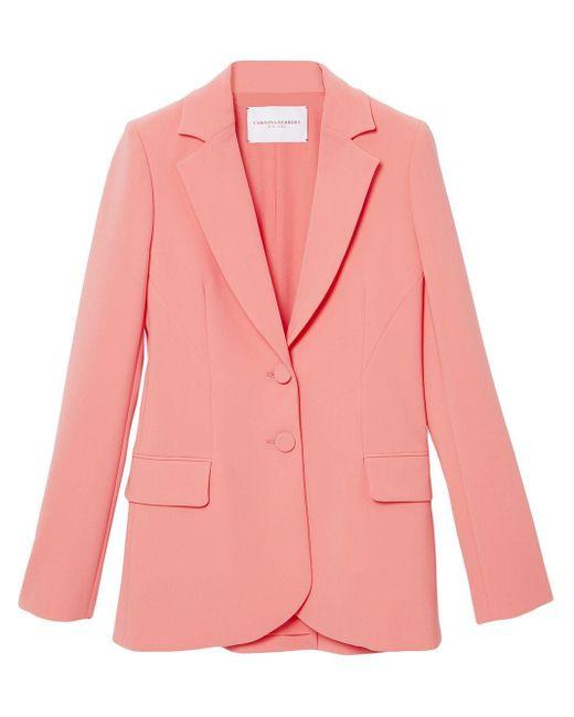 Carolina Herrera シングルジャケット Pink