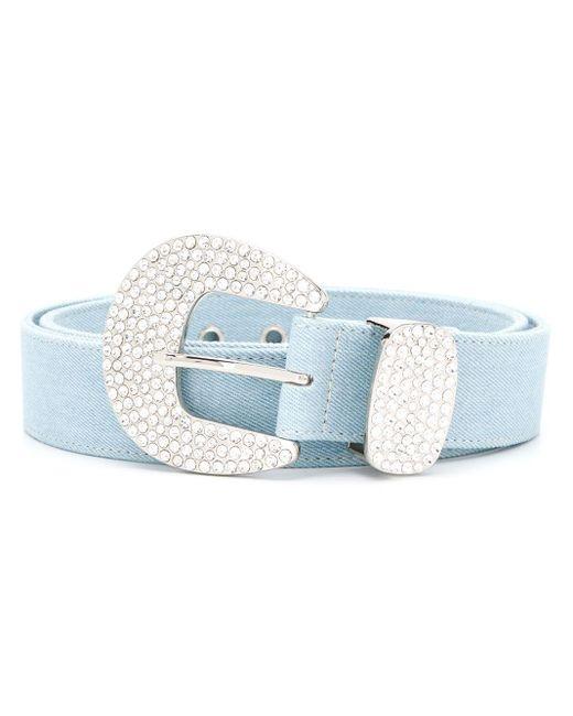 B-Low The Belt Brittany デニムベルト Blue
