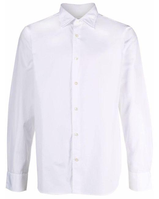 Рубашка Оксфорд Officine Generale для него, цвет: White