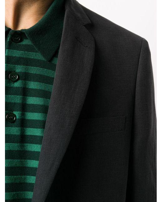 Пиджак С Контрастными Пуговицами Tonello для него, цвет: Black